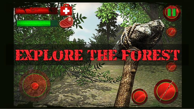 The Forest Survival 3D FREE