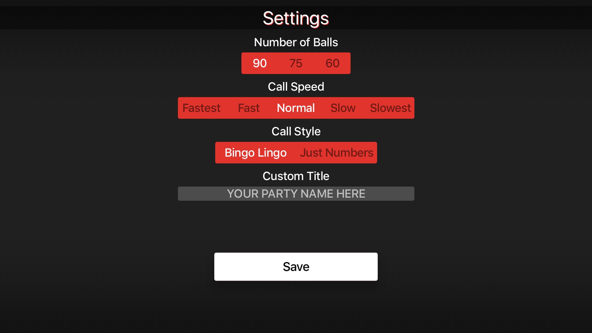 Bingo Caller Machine screenshot 15