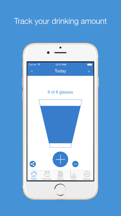 DrinkMore - Daily Water Intake Log