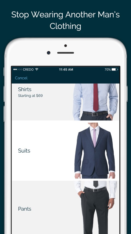 MTailor - Custom Shirts, Suits & Jeans