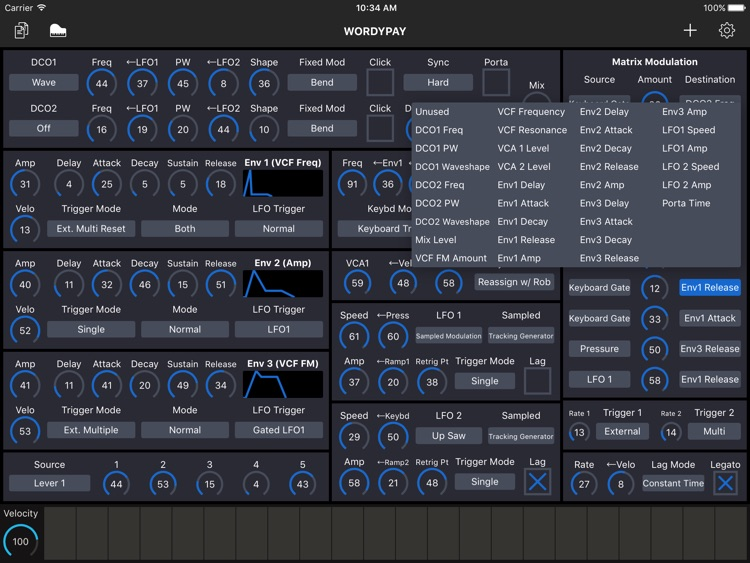Patch Touch: for Oberheim Matrix screenshot-4