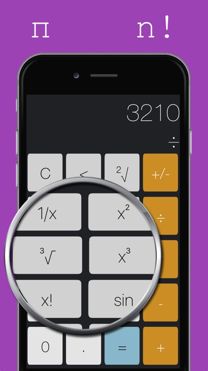 Calculightor - light and easy calculator screenshot-2