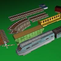 Codes for Model Railroad Set Hack