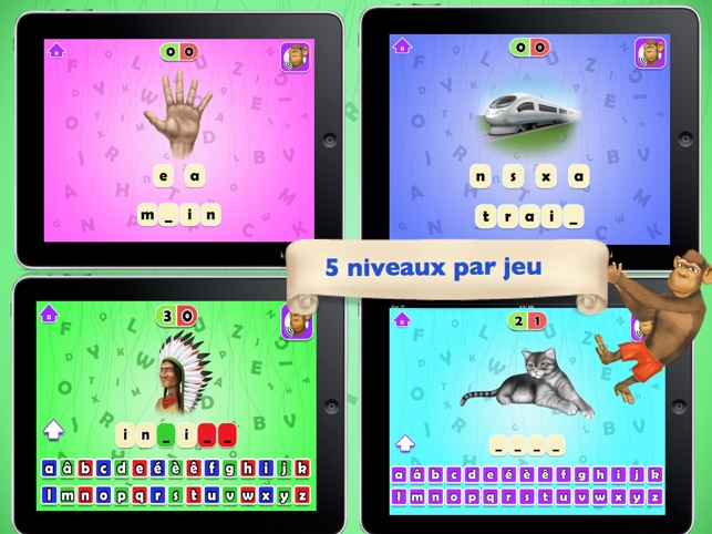 Apprendre l' alphabet, lire et ecrire