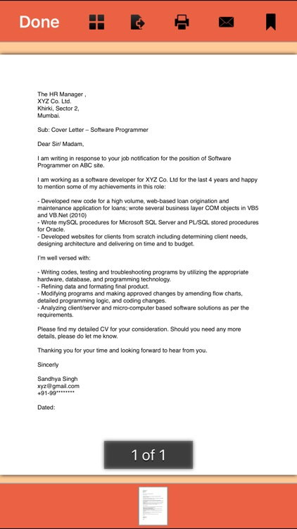 Cover Letter - 145 Templates for Any Job by Shaman Machine