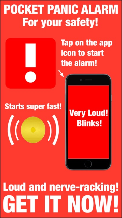Pocket Panic Alarm
