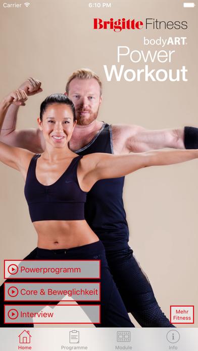 Brigitte Fitness bodyART Power Workoutのおすすめ画像1