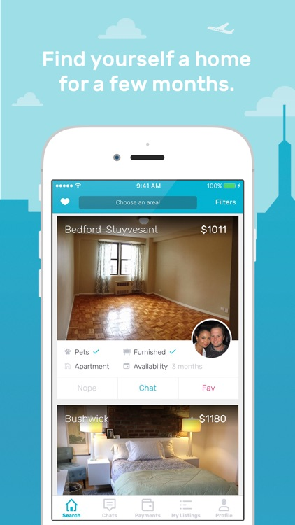 Skylight - Search apartments & rooms for rent, find a roommate & list your sublet