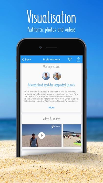 Algarve: Travel guide beaches screenshot-4