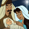 The Birth of Jesus: A Christmas Nativity Story Book - Children's Story Books, Read Along Bedtime Stories for Preschool, Kindergarten Age School Kids and Up