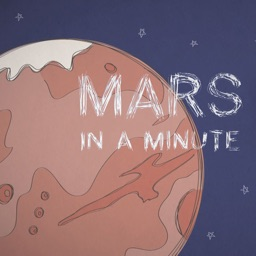 Earth to Mars - a minute pixel journey