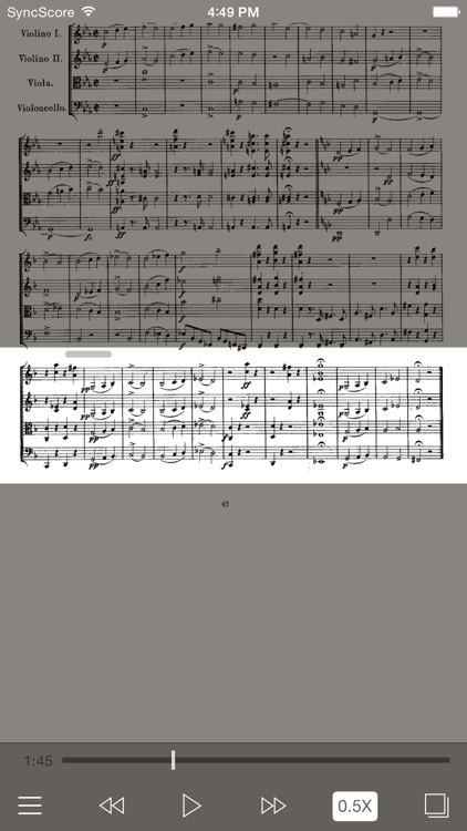Schubert String Quartets screenshot-1