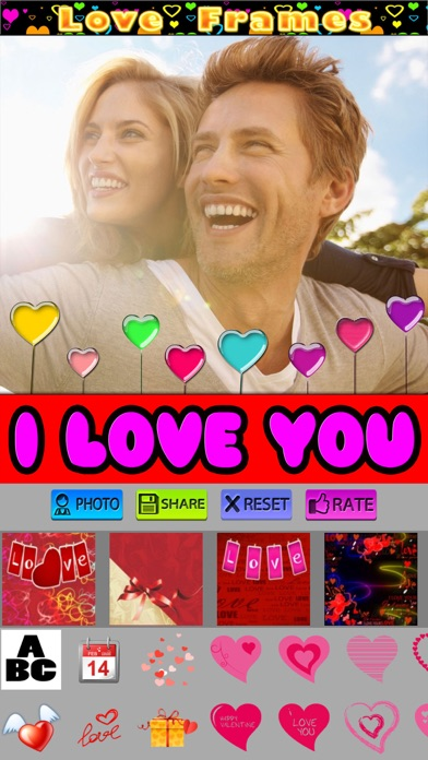 Valentine's Photo Frames screenshot one