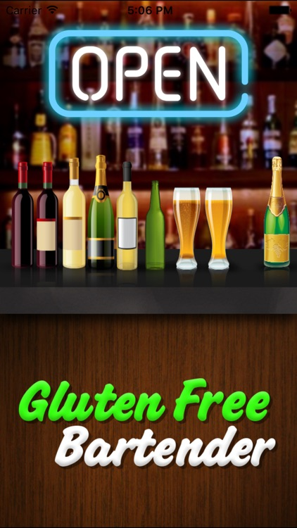 Gluten Free Bartender