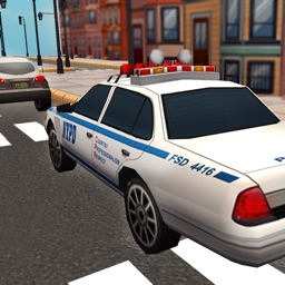 Crime City Police Car Chase 3D - Drive Cops Vehicles and Chase the Robbers