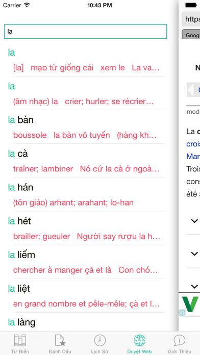 FVEDict - Từ Điển Pháp Việt screenshot four