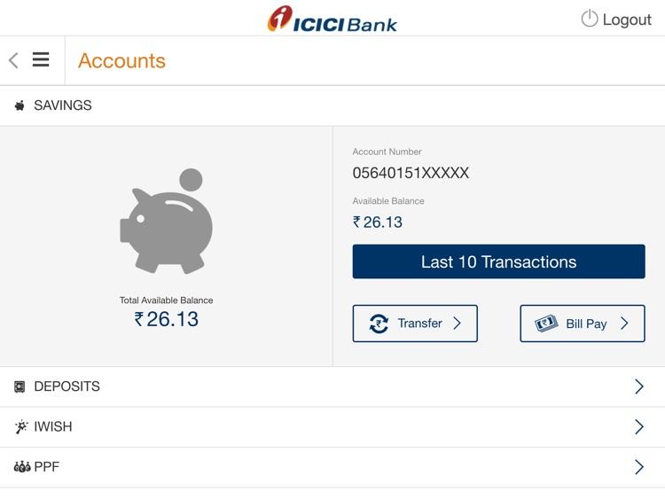 ICICI Bank iMobile screenshot-4