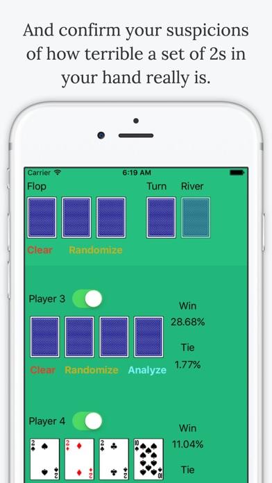 Omaha Poker Calculator - Calculate Odds and Chances % to Winのおすすめ画像5