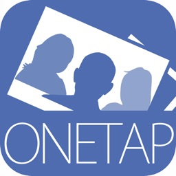 OneTap PhotoBox - professionel photo booth app - design, share and print collages, backgrounds, borders. Ideal for weddings and events