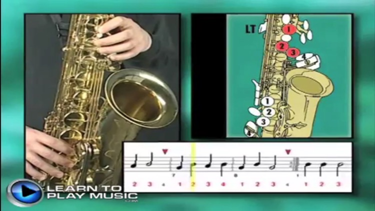 Teach Yourself To Play Saxophone screenshot-4