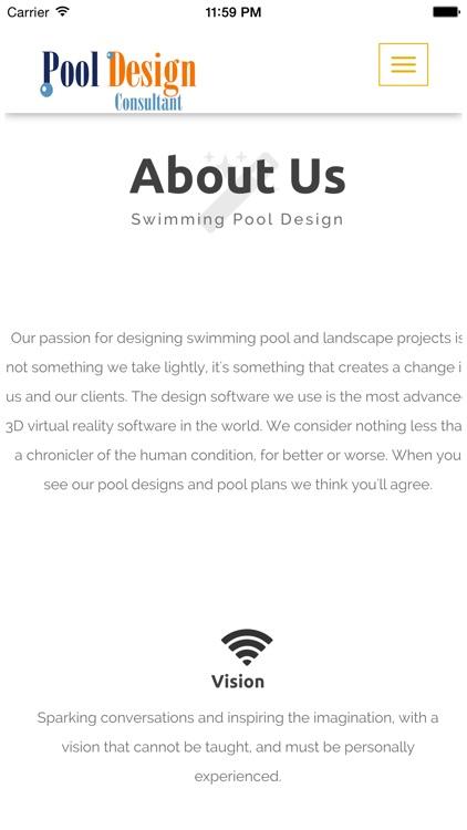 Pool Design Consultant screenshot-3