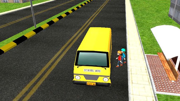 School Bus 3D Free screenshot-1