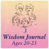 G AND M PRODUCTS LLC - Journal Volume 3 (Ages 20-25) Young Adult Years-Preparing for Life  artwork