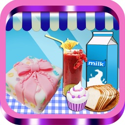 Cream Cake Maker:Cooking Games For Kids-Juice,Cookie,Pie,Cupcakes,Smoothie and Turkey & Candy Bakery Story,Free!