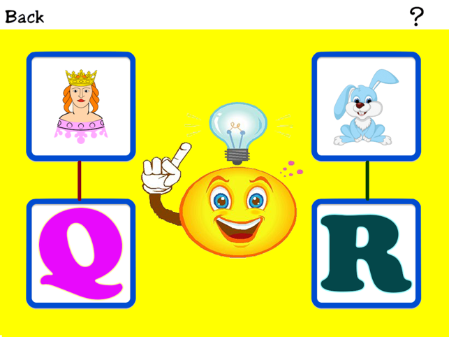 Alphabet Touch & Connect Game- Fun educational game for toddler, Preschool and Kindergarten kids Screenshot