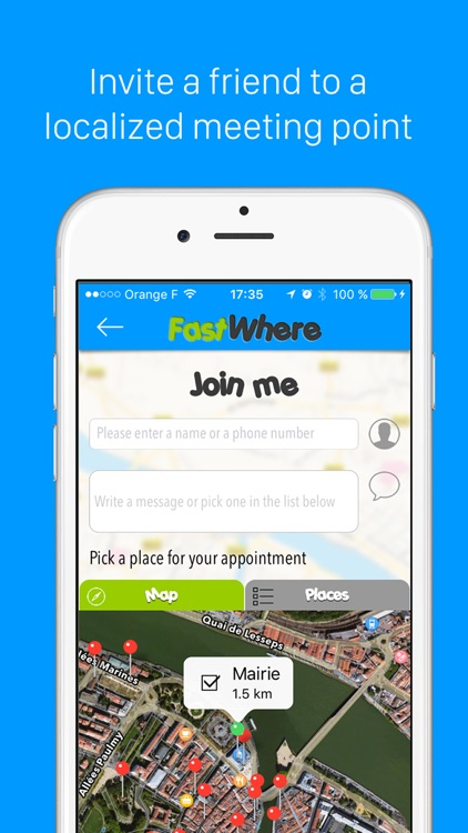 FastWhere - Find GPS location of friends and family in realtime screenshot-3