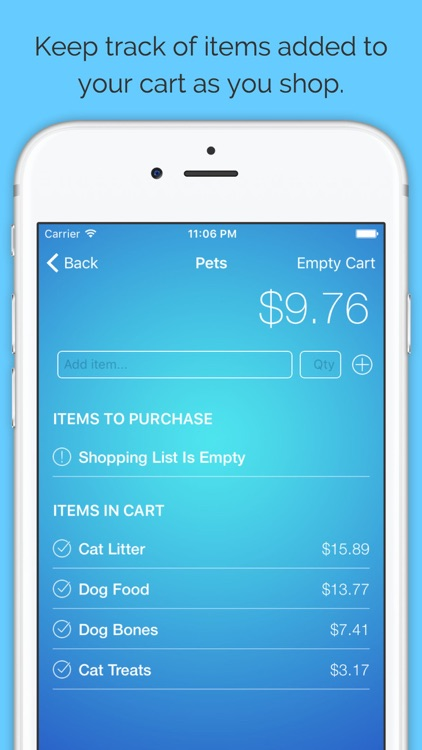 Budge - Budget Your Shopping Lists screenshot-4