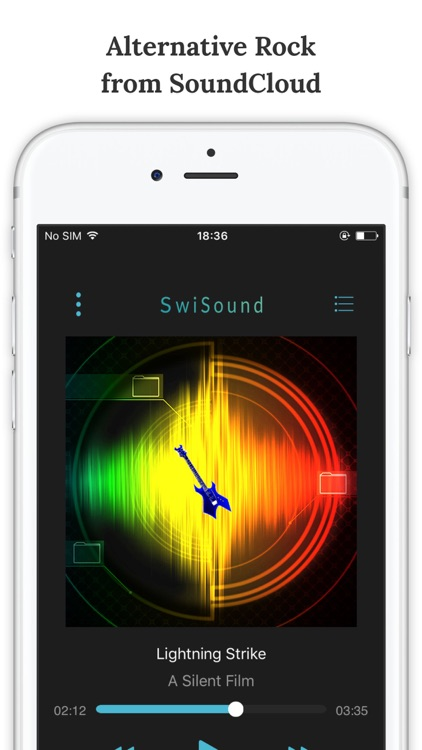 SwiSound - Alternative Rock Music Streaming Service