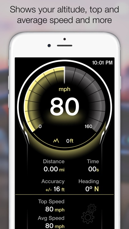 GPS Speedometer - Digital Speed Tracker screenshot-4