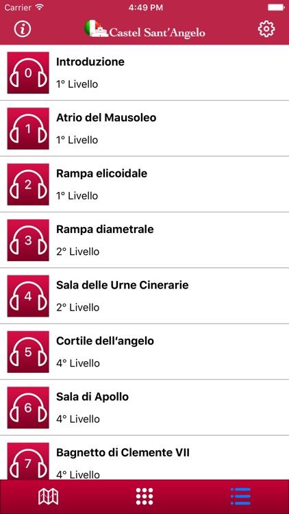 Castel Sant'Angelo - Italiano screenshot-3