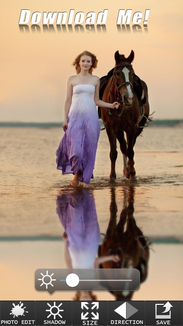 Photo Reflection HD - Water Reflect Effect Like & Mirror Flip Blender Editor Screenshot