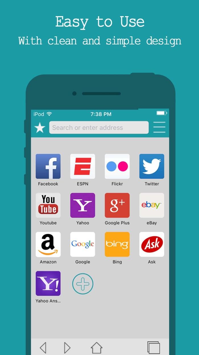 Best Internet Browser - Secure Web Browsing Screenshot