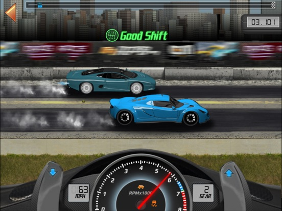 Drag Racing Classic на iPad