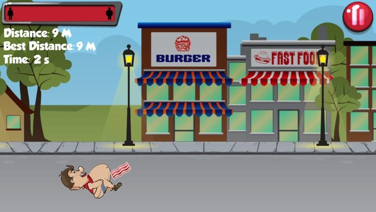 Bacon Boy - Funny Fat Guy Runner Mini Game screenshot-3