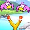 Slingshot Bird Sling Shooter:  A Fly Bubble Birdy Hunter Game