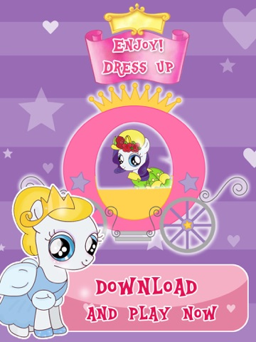 "Скачать игру ""Princess Pony Dress Up For Equestria Girls"" : My Little Pets Friendship Rock salon and Make-Up Ever Game"