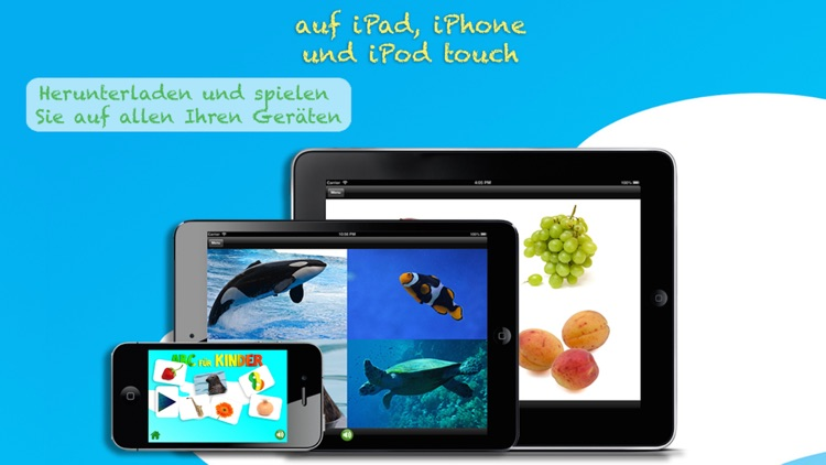 ABC Für Kinder: Learn German - letters and words screenshot-4