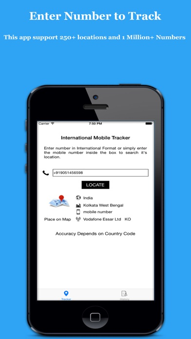 Search & Track Number - Mobile Number Tracker Unlimitedのおすすめ画像1