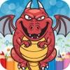 Color Libro Dinosaurio Para Colorear Pinta Gratis Divertido - juegos educativos preescolar para los niños el niño