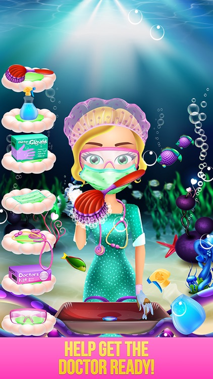 Mermaid Baby Hospital - Crazy Doctor Salon & Spa screenshot-3