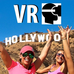 VR Virtual Reality Trip To Hollywood Sign