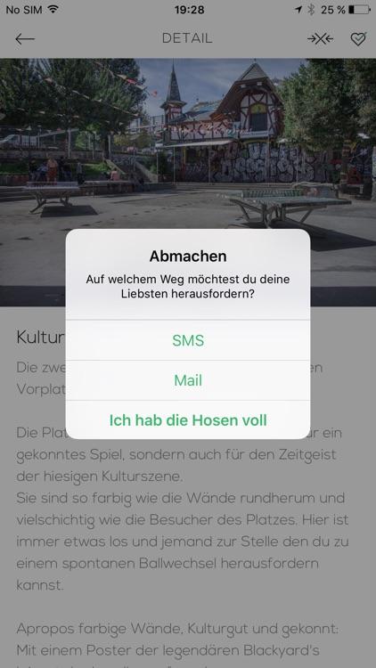 Ping Pong App Bern - Deine Sammlung öffentlicher Tische in der Stadt screenshot-4