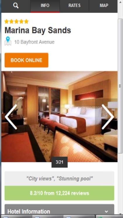 Singapore Hotels & Maps screenshot-3