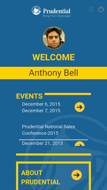 Prudential Event App