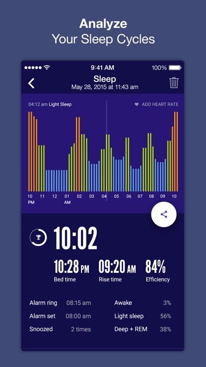 Sleep Time+ : Sleep Cycle Smart Alarm Clock, Sleep Tracker with Sleep Cycle Analysis and Soundscapes for Better Sleep