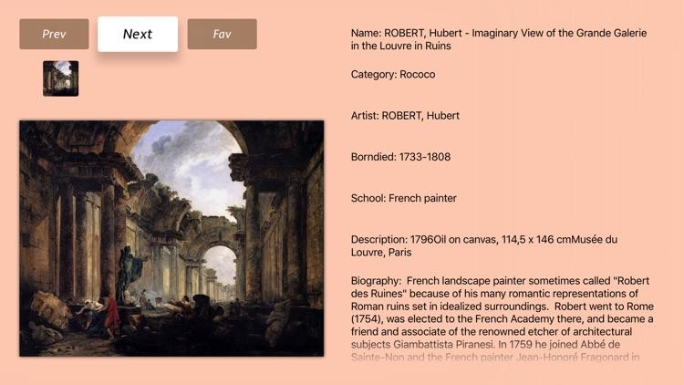 Rococo Art Gallery Info
